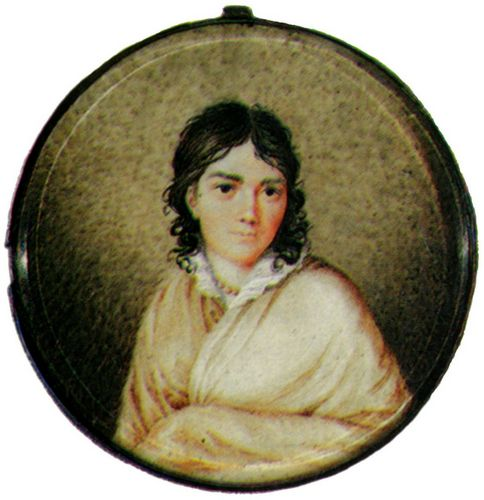 Bettina von Arnim (Medaillon, um 1810)