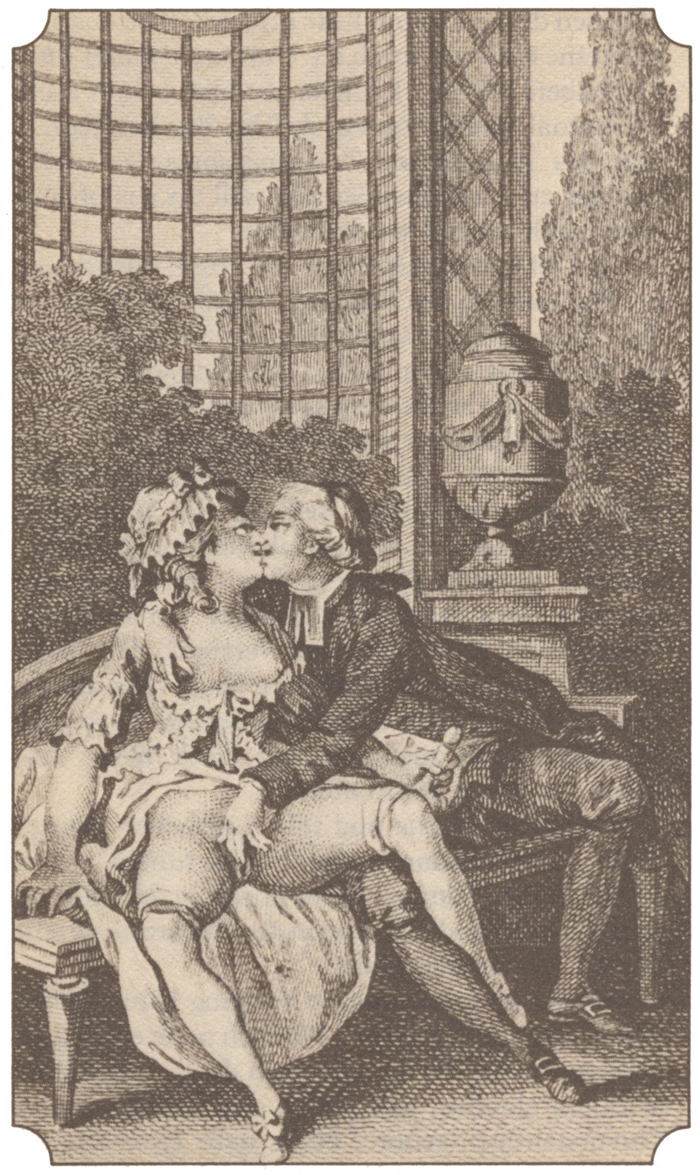 Старинная эротическая гравюра 10 фотография