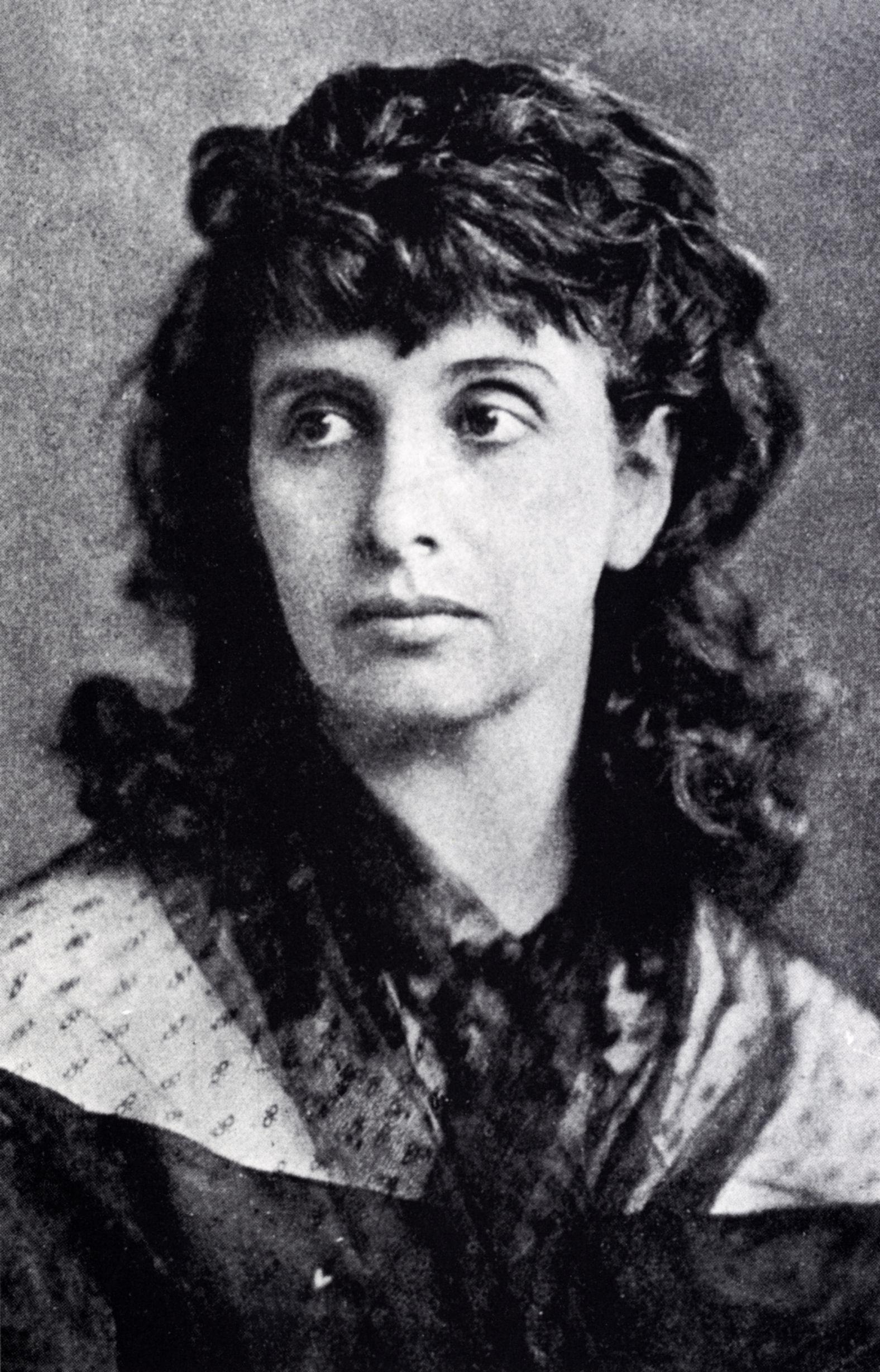 <b>Hedwig Dohm</b> (Fotografie, um 1870) - dohmhpor