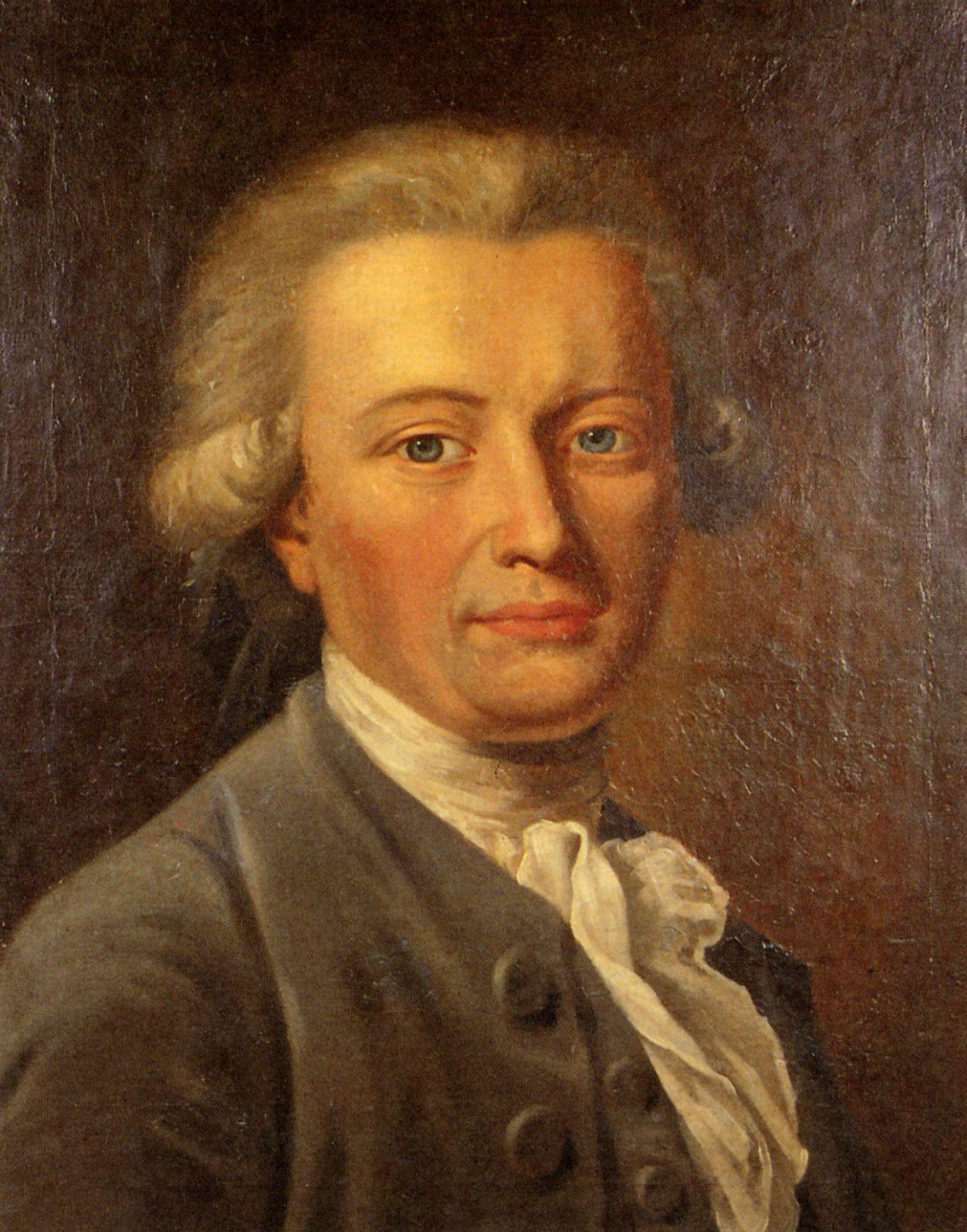 Georg Forster (Gemälde von <b>Johann Heinrich</b> Wilhelm Tischbein?, um 1785) - forstpor