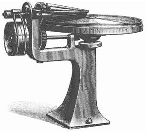 Fig. 2. Lefeldts Butterknetmaschine.