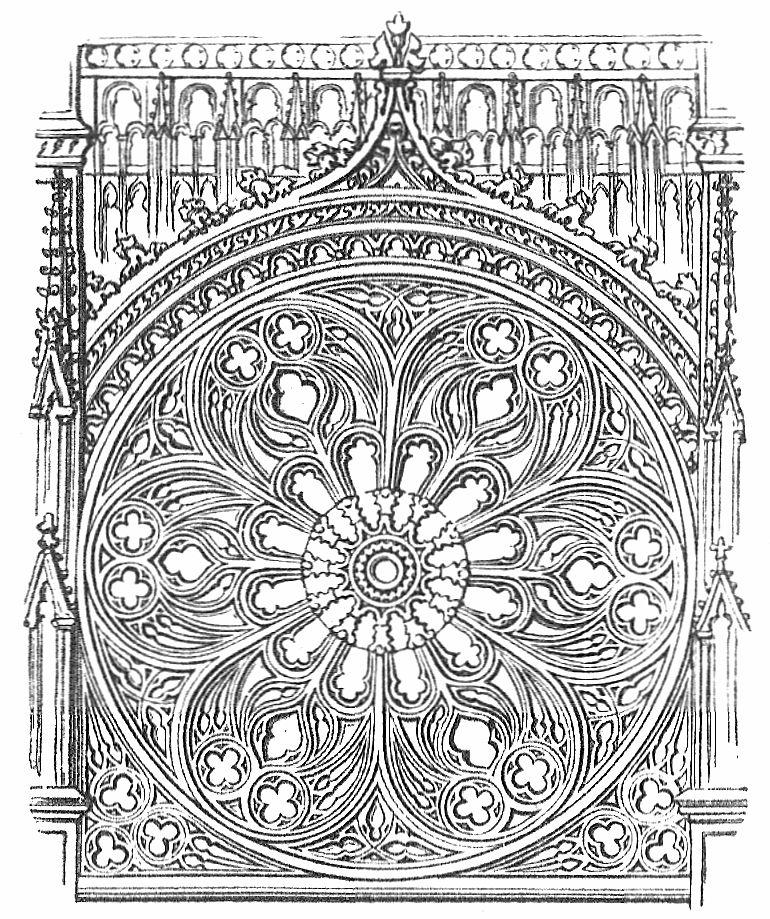 fig 2 fensterrose von der kathedrale zu rouen  zeno