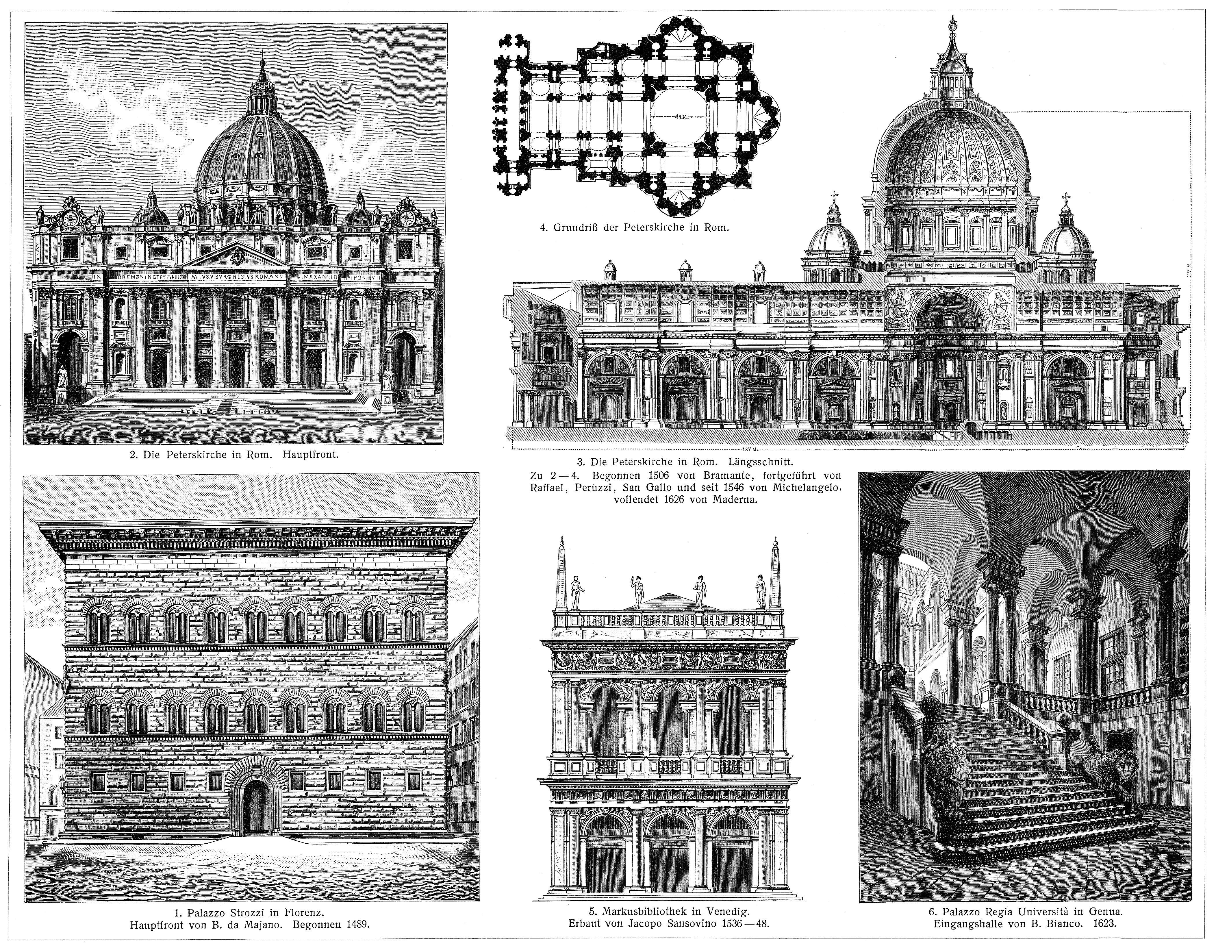 architektur x italienische renaissance 15 17 jahrhundert. Black Bedroom Furniture Sets. Home Design Ideas
