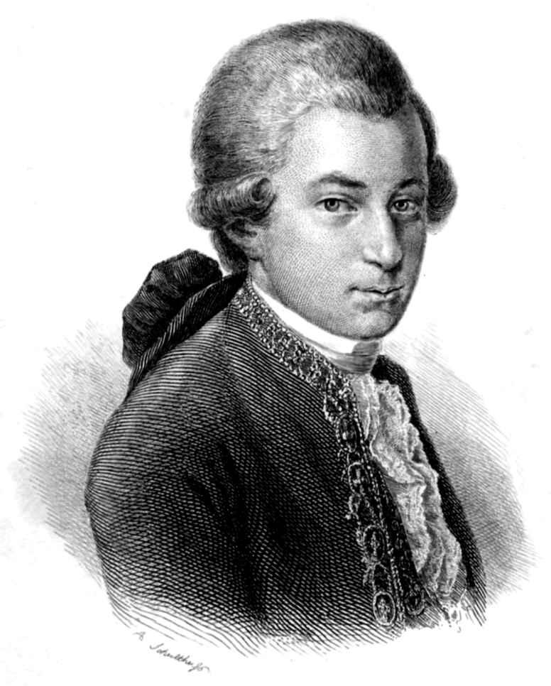 Porträt: »W.A. Mozart« (Bd. 1, S. 1) - Zeno.org