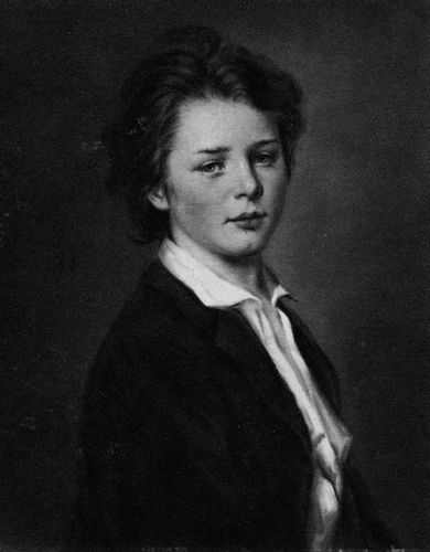 Carl Ludwig Schleich, Jugendbildnis